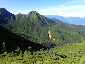 下に赤岳鉱泉