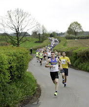 Photo: The Pensford 10k race on Sunday 26th April 2015