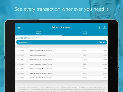 NetSpend Prepaid Banking- screenshot thumbnail