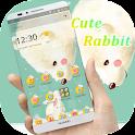 Cute Lovely Rabbit Theme icon