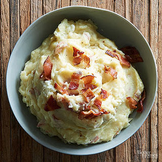 Buttermilk White Cheddar Mashed Potatoes