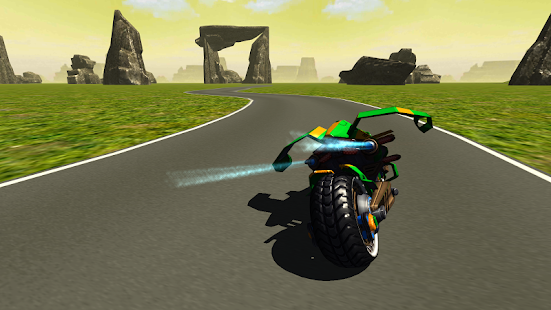 Flying Motorbike Stunt Rider- screenshot thumbnail