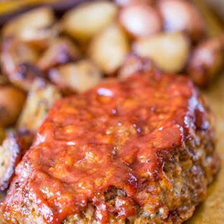 Glazed Brown Sugar Meatloaf.