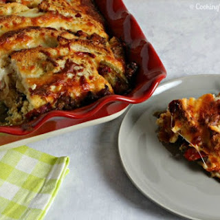 Philly Style Sausage And Peppers Strata