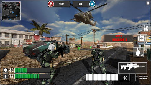 Wicked Commando War Battleground Game 2018 1.1 screenshots 4