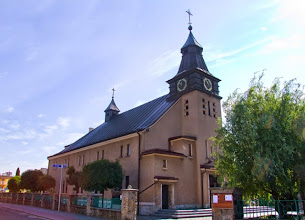 Photo: Bykowina - kościół pw. Najświętszego Serca Pana Jezusa