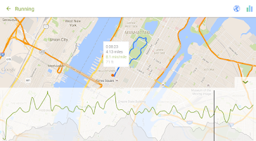 Screenshot of Endomondo - Running & Walking
