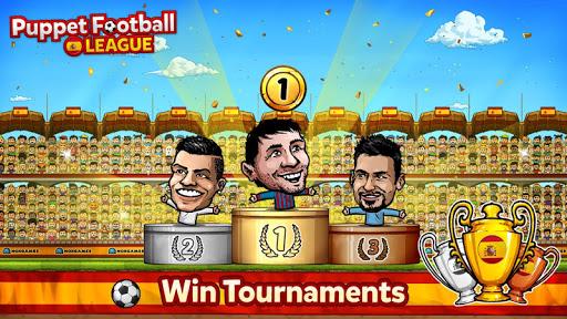 Puppet Football Spain - Big Head CCG/TCG⚽ screenshot 13