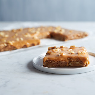 Pumpkin Butterscotch Fudge Bars