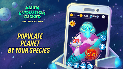 Alien Evolution Clicker: Species Evolving 1.0.5 gameplay | by HackJr.Pw 6