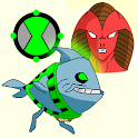 Fish Alien Run Jump Game icon