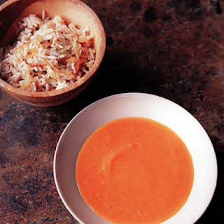 Carrot and Lentil Soup.