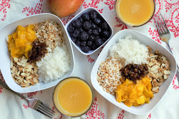 Mango Coconut Breakfast Bowls
