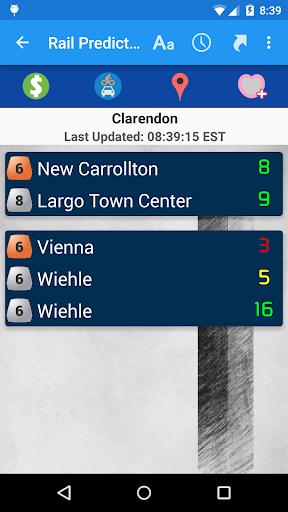 DC Metro Transit Info - Free screenshot 3