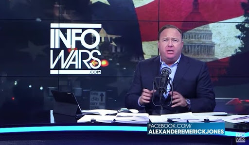 Alex Jones of InfoWars: 'Performance artist'
