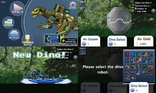 Dino Robot Battle Field screenshot 02