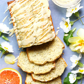 Orange-Almond Poppy Seed Tea Cake Recipe