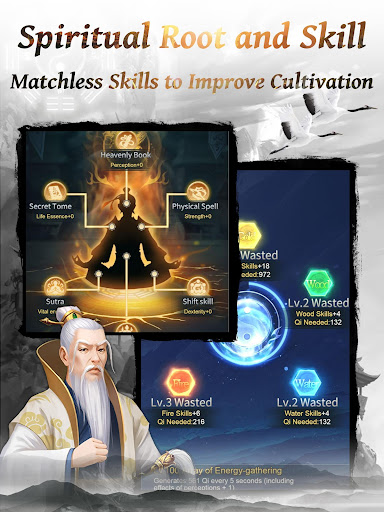 Immortal Taoists-Idle Game of Immortal Cultivation 1.4.6 screenshots 9