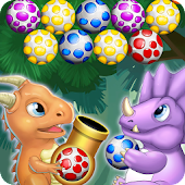 Dino Eggs Pop Saga: Bubble Shooter n' Rescue Dino