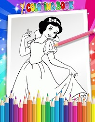 How To Color Disney Princess - Coloring Pages APK screenshot thumbnail 4