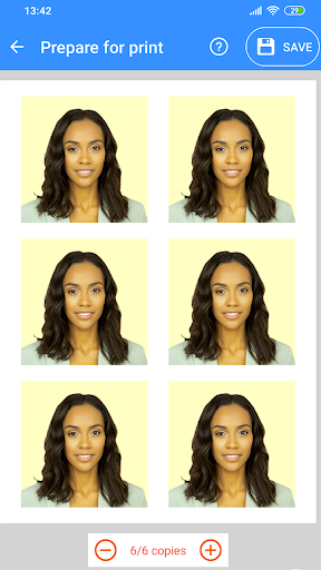 Passport Size Photo Maker - ID Photo Application 1.3.16 screenshots 4