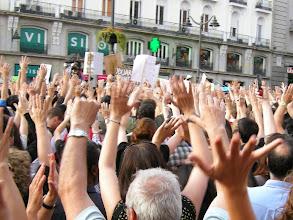 Photo: Puerta del Sol, Madrid, Movimiento 15-M, 21 de mayo de 2011, a4