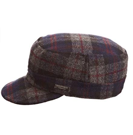 Gilston Winter cap, blå/grå/röd