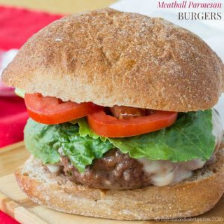 Meatball Parmesan Burgers {with a low carb option}.
