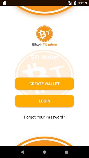 Bitcoin Titanium Wallet 1.0.1 screenshots 1