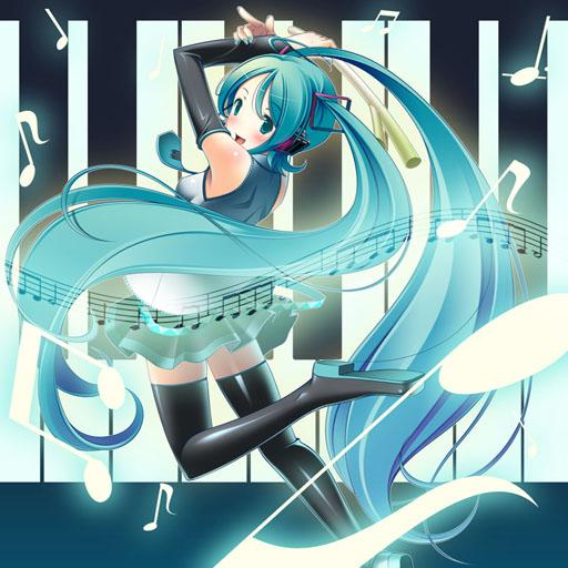 Hatsune Miku Piano Tiles 🎹