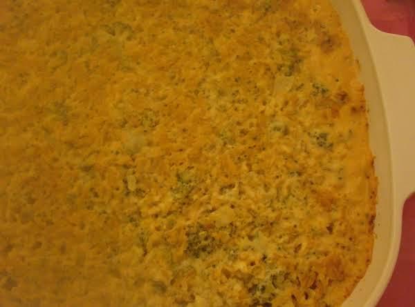 Green Rice Caserole