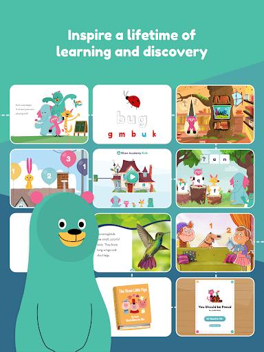 Khan Academy Kids: Free educational games & books 3.5.3 screenshots 18