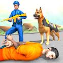 US Police Dog Canine Officer Chase Simulator icon