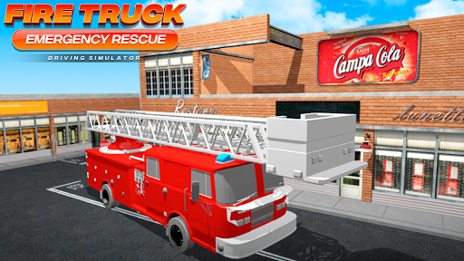 Fire Truck Emergency Rescue - Driving Simulator 1.0 screenshots 1