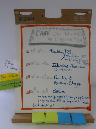 Café de l'éducation mai 18