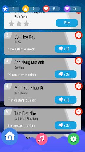 Piano Tiles Việt - Đuổi Nhạc Bắt Nút Nhạc Việt screenshot 2