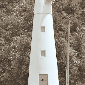 The Lighthouse by Dave Reece - City,  Street & Park  Vistas ( fort louis, lighhouse, st martin, marigot )