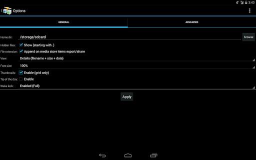 AndFTP screenshot 12