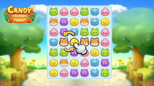 Candy Friends Forest : Match 3 Puzzle 1.1.4 screenshots 1