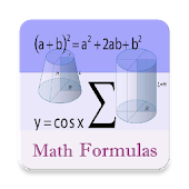 Math Formulas - All-In-One