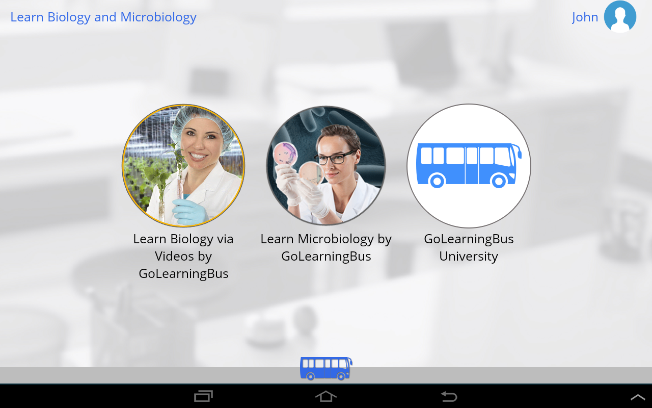 Learn Biology and Microbiology- screenshot