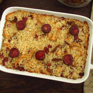 Chicken And Chorizo Rice.
