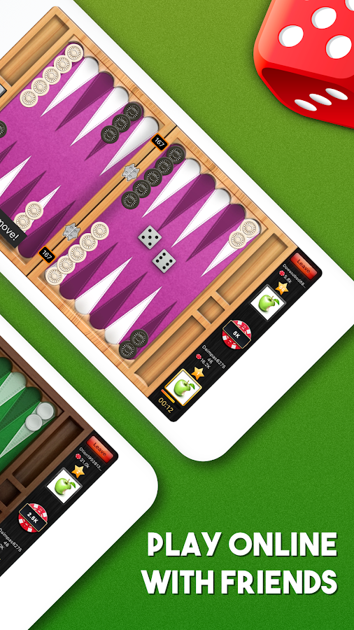 Backgammon Online Multiplayer