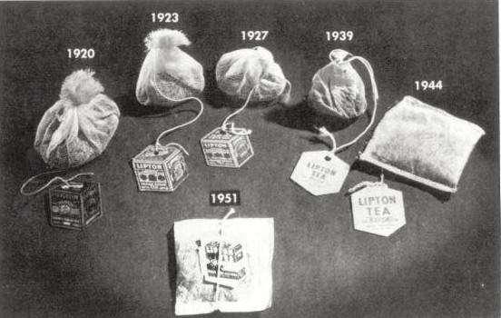 Эволюция чайных пакетиков