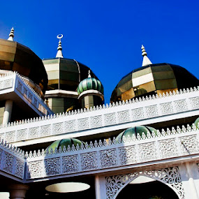 Domes of Masjid Kristal by Abd Rahman - Buildings & Architecture Other Exteriors