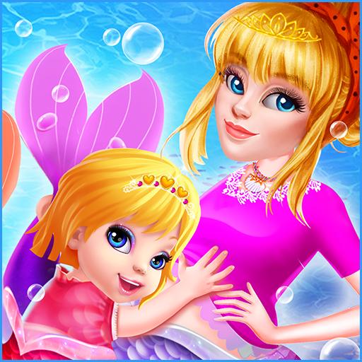 Mermaid Princess Pregnancy Check Up: Newborn Care