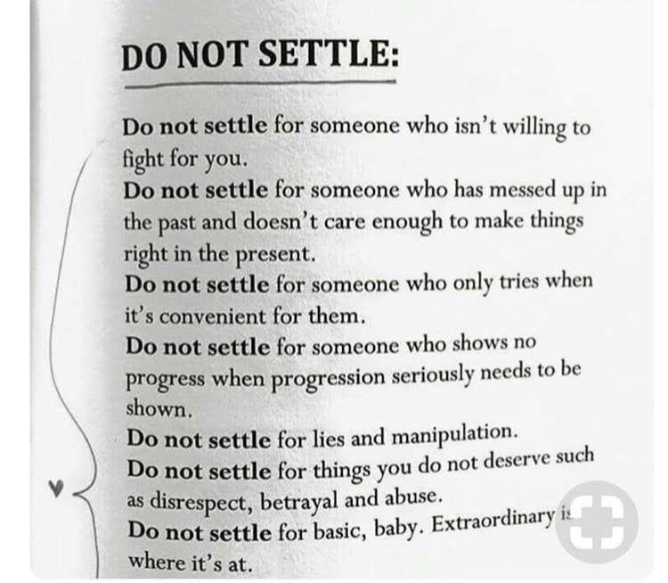 Not Gonna Settle