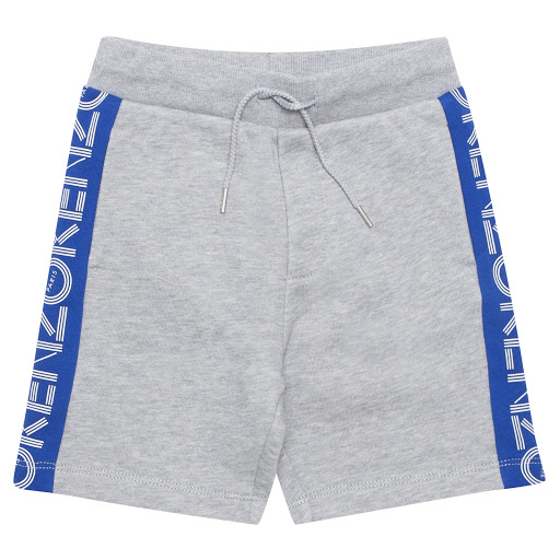 Primary image of Kenzo Kids Cotton Logo Shorts