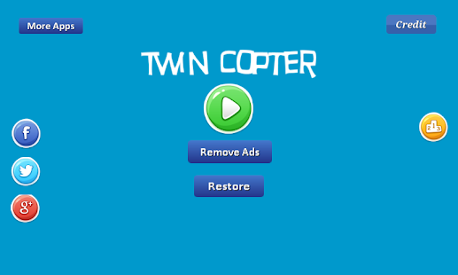 Twin Copter - two helicopters Screenshot