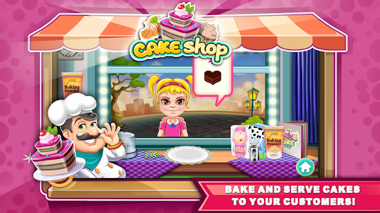 Game Cake Shop: Bakery Chef Story APK for Windows Phone